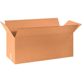 "Long Cardboard Corrugated Boxes 30"" x 12"" x 12"" 200#/ECT-32 - Pkg Qty 15"