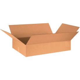 "Flat Cardboard Corrugated Boxes 30"" x 20"" x 6"" 200#/ECT-32 - Pkg Qty 15"