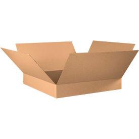 "Flat Cardboard Corrugated Boxes 30"" x 30"" x 6"" 200#/ECT-32 - Pkg Qty 15"