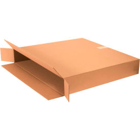 "Side Loading Cardboard Corrugated Boxes 30"" x 5"" x 30"" 200#/ECT-32 - Pkg Qty 10"