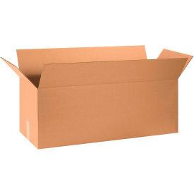 "Long Cardboard Corrugated Boxes 32"" x 12"" x 12"" 200#/ECT-32 - Pkg Qty 20"