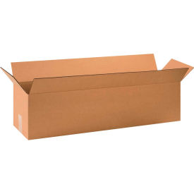 "Long Cardboard Corrugated Boxes 32"" x 8"" x 8"" 200#/ECT-32 - Pkg Qty 25"