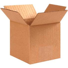 "Cube Cardboard Corrugated Boxes 3"" x 3"" x 3"" 200#/ECT-32 - Pkg Qty 25"
