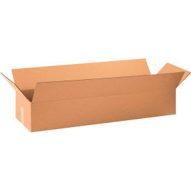 "Long Cardboard Corrugated Boxes 34"" x 10"" x 6"" 200#/ECT-32 - Pkg Qty 10"