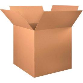 "Cube Cardboard Corrugated Boxes 34"" x 34"" x 34"" 200#/ECT-32 - Pkg Qty 5"