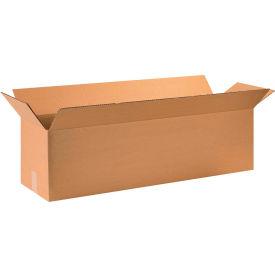 "Long Cardboard Corrugated Boxes 36"" x 10"" x 10"" 200#/ECT-32 - Pkg Qty 20"