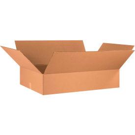 "Flat Cardboard Corrugated Boxes 36"" x 24"" x 8"" 200#/ECT-32 - Pkg Qty 10"