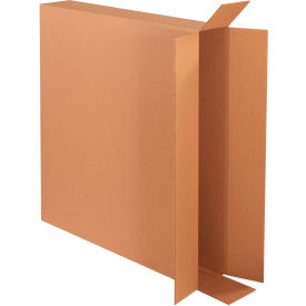 "Side Loading Cardboard Corrugated Boxes 40"" x 6"" x 36"" 275#/ECT-44 - Pkg Qty 20"