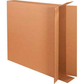 "Side Loading Cardboard Corrugated Boxes 40"" x 6"" x 40"" 275#/ECT-44 - Pkg Qty 20"