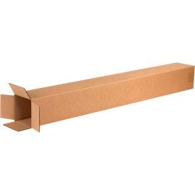 "Tall Cardboard Corrugated Boxes 4"" x 4"" x 40"" 200#/ECT-32 - Pkg Qty 25"