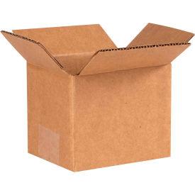 "Cardboard Corrugated Boxes 5"" x 4"" x 4"" 200#/ECT-32 - Pkg Qty 25"