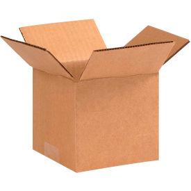 "Cardboard Corrugated Boxes 5"" x 5"" x 4"" 200#/ECT-32 - Pkg Qty 25"