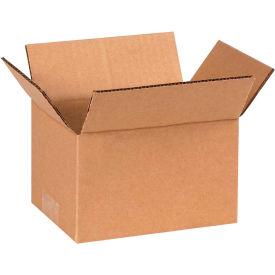 "Cardboard Corrugated Boxes 6"" x 4"" x 3"" 200#/ECT-32 - Pkg Qty 25"