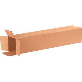 "Tall Cardboard Corrugated Boxes 6"" x 6"" x 30"" 200#/ECT-32 - Pkg Qty 25"