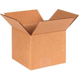 "Cardboard Corrugated Boxes 6"" x 6"" x 5"" 200#/ECT-32 - Pkg Qty 25"