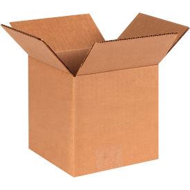 "Cube Cardboard Corrugated Boxes 6"" x 6"" x 6"" 200#/ECT-32 - Pkg Qty 25"