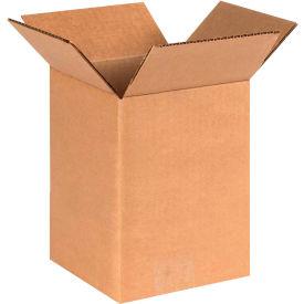"Cardboard Corrugated Boxes 6"" x 6"" x 8"" 200#/ECT-32 - Pkg Qty 25"