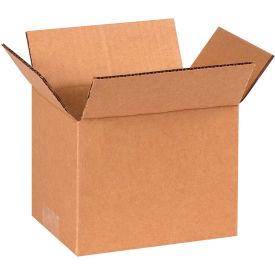 "Cardboard Corrugated Boxes 7"" x 6"" x 6"" 200#/ECT-32 - Pkg Qty 25"