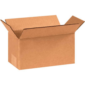 "Long Cardboard Corrugated Boxes 8"" x 4"" x 4"" 200#/ECT-32 - Pkg Qty 25"