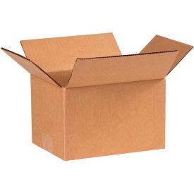 "Cardboard Corrugated Boxes 8"" x 6"" x 5"" 200#/ECT-32 - Pkg Qty 25"