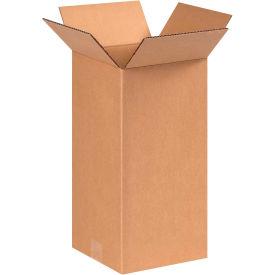 "Tall Cardboard Corrugated Boxes 8"" x 8"" x 16"" 200#/ECT-32 - Pkg Qty 25"
