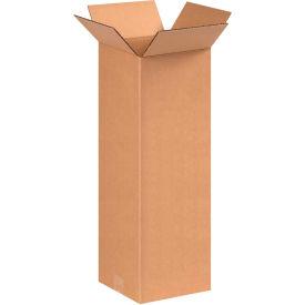 "Tall Cardboard Corrugated Boxes 8"" x 8"" x 20"" 200#/ECT-32 - Pkg Qty 25"