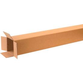 "Tall Cardboard Corrugated Boxes 8"" x 8"" x 60"" 200#/ECT-32 - Pkg Qty 15"