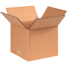 "Cardboard Corrugated Boxes 8"" x 8"" x 7"" 200#/ECT-32 - Pkg Qty 25"