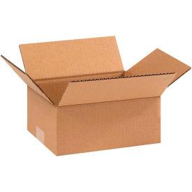 "Cardboard Corrugated Boxes 9"" x 7"" x 4"" 200#/ECT-32 - Pkg Qty 25"