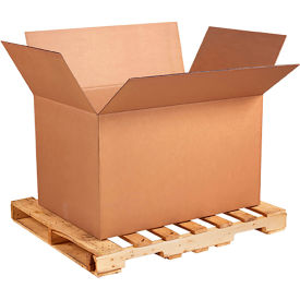 """Heavy-Duty Double Wall Cardboard Corrugated Boxes 41"""" x 28-3/4"""" x 25-1/2"""" 350#/ECT-51 - Pkg Qty 5"""