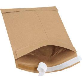 "Self-Seal Padded Mailers #0, 6"" x 10"" Kraft, 25 Pack"