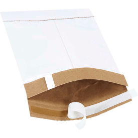 "Self-Seal Padded Mailers #0, 6"" x 10"" White, 25 Pack"