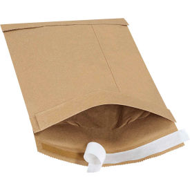 "Self-Seal Padded Mailers #1, 7-1/4"" x 12"" Kraft, 100 Pack"