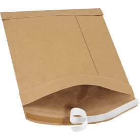 "Self-Seal Padded Mailers #2, 8-1/2"" x 12"" Kraft, 100 Pack"