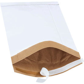 "Self-Seal Padded Mailers #4, 9-1/2"" x 14-1/2"" White, 100 Pack"