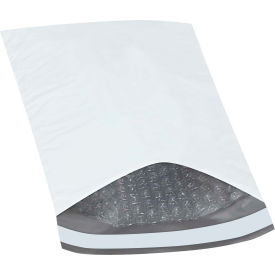 """Bubble Lined Poly Mailers #0, 6-1/2"""" x 10"""" White, 25 Pack"""