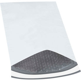 "Bubble Lined Poly Mailers #4, 9-1/2"" x 14-1/2"" White, 100 Pack"