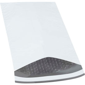 "Bubble Lined Poly Mailers #3, 8-1/2"" x 14-1/2"" White, 100 Pack"