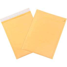 "Self-Seal Bubble Mailers with Tear Strip #4, 9-1/2"" x 14-1/2"" Golden Kraft, 100 Pack"