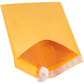 """Self-Seal Bubble Mailers #5, 10-1/2"""" x 16"""" Golden Kraft, 100 Pack"""
