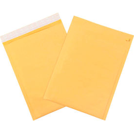 "Self-Seal Bubble Mailers with Tear Strip #5, 10-1/2"" x 16"" Golden Kraft, 25 Pack"