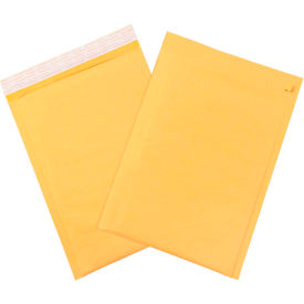 """Self-Seal Bubble Mailers with Tear Strip #6, 12-1/2"""" x 19"""" Golden Kraft, 50 Pack"""