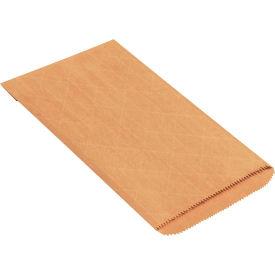"Nylon Reinforced Mailers #0, 6"" x 10"" Kraft, 1000 Pack"