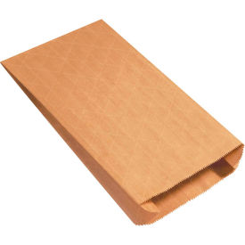 "Gusseted Nylon Reinforced Mailers #8G, 8-1/2"" x 3-1/4"" x 14-1/2"" Kraft, 500 Pack"