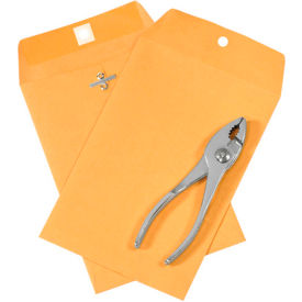"""6"""" x 9"""" Kraft Clasp Envelopes 1000 Pack by"""
