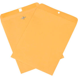 """9"""" x 12"""" Kraft Clasp Envelopes 500 Pack by"""