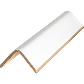 "Edge Protectors 2"" x 2"" x 72"", .225"" Thick, White, 20 Pack"