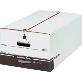 """File Storage Box FSB680 - Legal 24""""L x 15""""W x 10-1/2""""H - White - Price Each - Pkg Qty 12"""