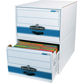 "Stor/Drawer Steel Plus File Storage Drawer FSB720 24"" x 15"" x 10"" White/Blue Price Each - Pkg Qty 6"