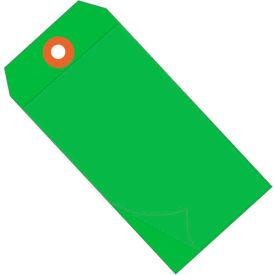 "Self Laminating Tags 4-3/4"" x 2-3/8"" Green - 100 Pack"
